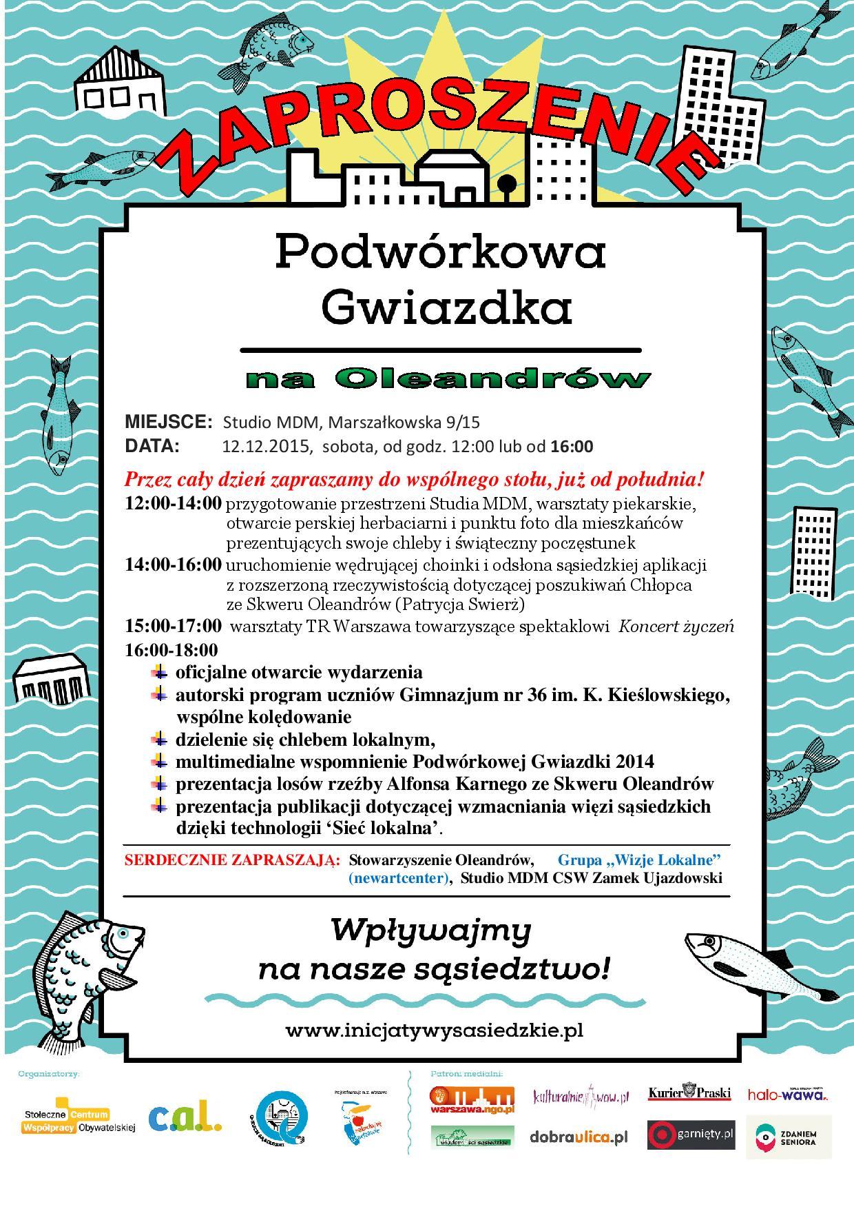 Zaproszenie - VI PG 20151212_